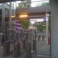 Photo taken at Metrostation Postjesweg by Kiliaan K. on 5/10/2011