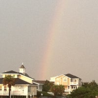 Photo taken at Holden Beach by Michelle S. on 8/24/2011