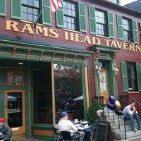 Photo taken at Rams Head Tavern by Doug P. on 10/2/2011