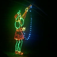 Photo taken at Tanglewood Festival of Lights by Tara W. on 12/18/2011