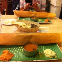Photo taken at House of Dosas by Jonas C. on 4/12/2011
