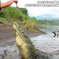 Photo taken at Jose's Crocodile River Tour by Croocodile T. on 9/4/2012