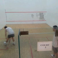 Photo taken at Squash Court @ Catholic High School by Jack T. on 11/2/2011