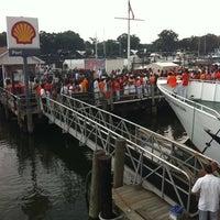 Photo taken at World's Fair Marina by Dj J. on 8/7/2011