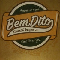 Photo taken at BemDito Steaks & Burgers by Thadeu F. on 7/15/2012