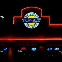 Photo taken at St Louis Sports Zone by Jon M. on 10/2/2011