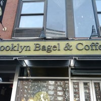 Photo taken at Brooklyn Bagel & Coffee Co. by Michael M. on 12/22/2011