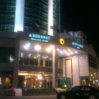 Photo taken at Diplomat Hotel by Nick H. on 8/24/2012