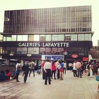 Photo taken at Galeries Lafayette Montparnasse by Sérgio H. on 8/28/2012