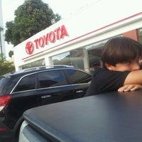 Photo taken at Carvalho & Filhos (Toyota) by Alexandre S. on 8/21/2012