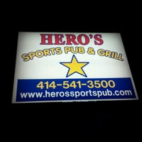 Photo taken at The Draft (Hero's Sports Pub & Grill) by Rick T. on 10/6/2011
