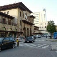 Photo taken at Estación de Oviedo by Victor M. on 6/26/2012