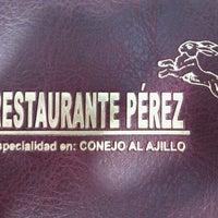 Photo taken at Restaurante Pérez by Joan Carles C. on 1/22/2012