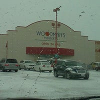 Photo taken at Woodman's Food Market by Dustin W. on 1/17/2012