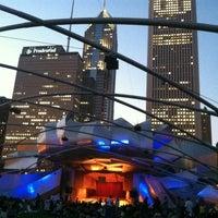 Photo taken at Jay Pritzker Pavilion by Bob O. on 8/3/2012