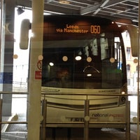 Photo taken at National Express / Eurolines Coach Station by Diana C. on 5/19/2012
