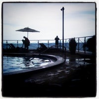 Photo taken at Eden Roc Pool by Bianca R. on 8/18/2012