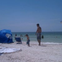 Photo taken at Pass-a-Grille Beach by Morgan K. on 9/3/2012