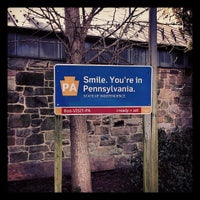 Photo taken at Pennsylvania Welcome Center by Tim G. on 2/18/2012