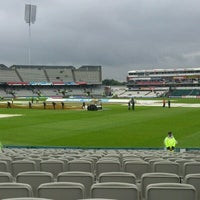Photo taken at Emirates Old Trafford by Stuart D. on 7/10/2012