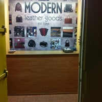 Photo taken at Modern Leather Goods & Repair by Brian T. on 4/6/2012
