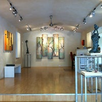 Photo taken at Paia Contemporary Gallery by Roxanne D. on 3/18/2012