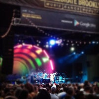 Photo taken at Celebrate Brooklyn!/Prospect Park Bandshell by Henry S. on 7/14/2012