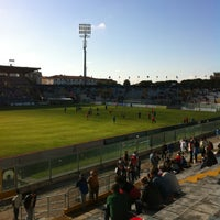 Photo taken at Arena Garibaldi - Stadio Romeo Anconetani by Roberto B. on 5/2/2012