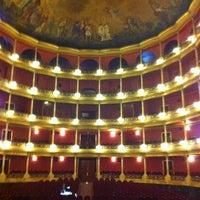 Photo taken at Teatro Degollado by Octavio M. on 3/14/2012