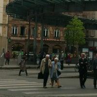 Photo taken at Place de l'Homme de Fer by Andrea C. on 7/2/2012