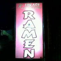 Photo taken at Hikari Ramen & Japanese Food by Wisnu N. on 10/26/2011