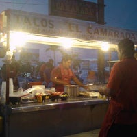Photo taken at Tacos El Camarada by Gonz R. on 7/14/2011