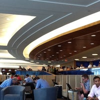 Photo taken at Delta Sky Club by Mary R. on 8/25/2011