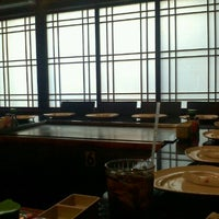 Photo taken at UMI Japanese Steakhouse by Lindsey C. on 9/16/2011