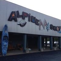 Photo taken at Alpine Shop by Christie B. on 8/10/2012