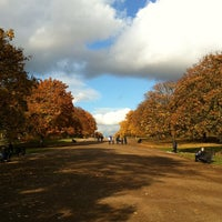 Photo taken at Hyde Park by Joel G. on 11/1/2011