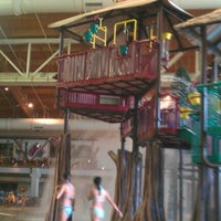 Photo taken at Great Wolf Lodge by Melody T. on 9/30/2011