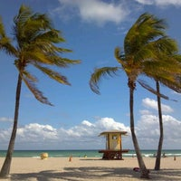Photo taken at Hollywood Beach Boardwalk by J.A. L. on 10/23/2011