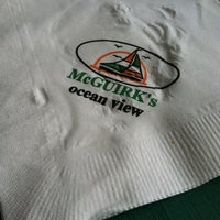 Photo taken at McGuirk's Ocean View by Justin W. on 8/21/2011