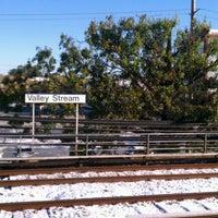 Photo taken at LIRR - Valley Stream Station by Pabony R. on 10/30/2011