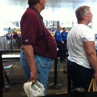 Photo taken at TSA Screening by Kyla Y. on 8/9/2011