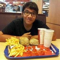 Photo taken at Burger King by novri a. on 1/24/2012