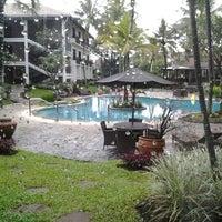 Photo taken at Sheraton Bandung Hotel & Towers by Sheila Aryani D. on 2/10/2012
