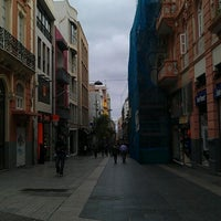 Photo taken at Calle Castillo by Angel C. on 12/17/2011