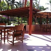 Photo taken at El Palmar Restaurant by Karina R. on 11/3/2011