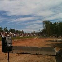 Photo taken at Goshen Fairgrounds by Paul T. on 6/19/2011