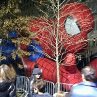 Photo taken at Macy's Parade Balloon Inflation by Thecrotch M. on 11/24/2011