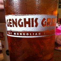 Photo taken at Genghis Grill by Steve B. on 2/18/2012