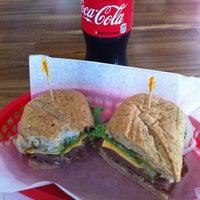 Photo taken at The Sandwich Spot by Octavio Q. on 6/2/2012