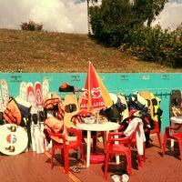 Photo taken at Dunaharaszti Wakeboard by Наташа Л. on 8/13/2012